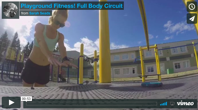 Playground Fitness: Full Body Circuit