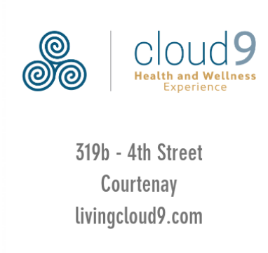 Live Your Highest State of Happiness -  Physically, Mentally and Emotionally we have the practitioners to assist you on your path.  ELM Members access our monthly membership for only $95 per month with our price lock guarantee and also receive double the guest passes each year! Click  HERE  for more information  Email: info@livingcloud9.com  Tel. 250-702-4769   https://www.livingcloud9.com/