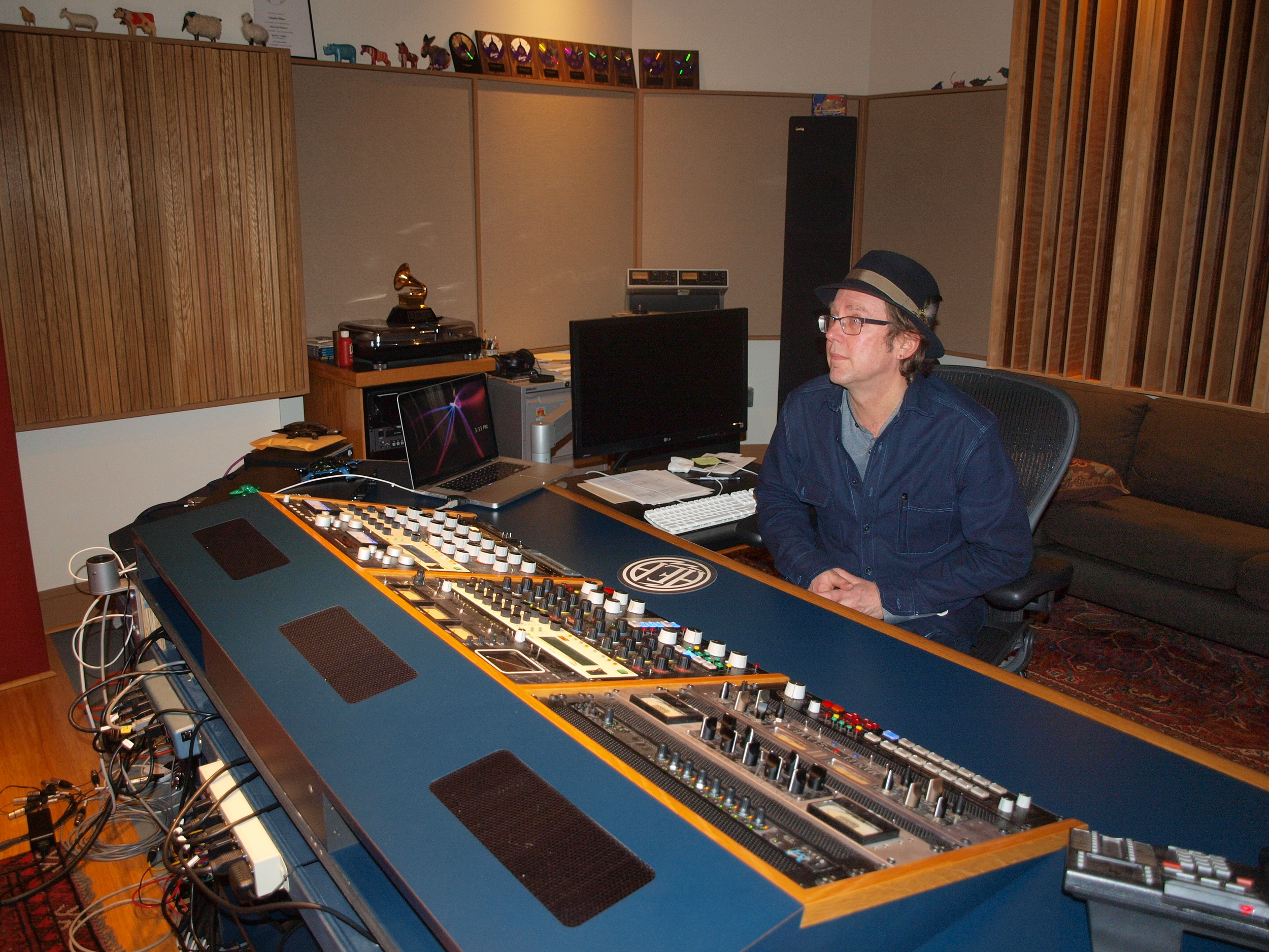 """""""I wonder if I should have gotten a degree in sound engineering."""""""