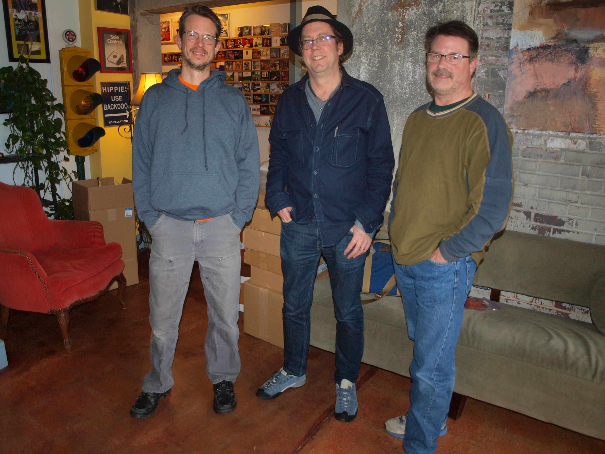 Don, John, and Randy— It's a wrap!