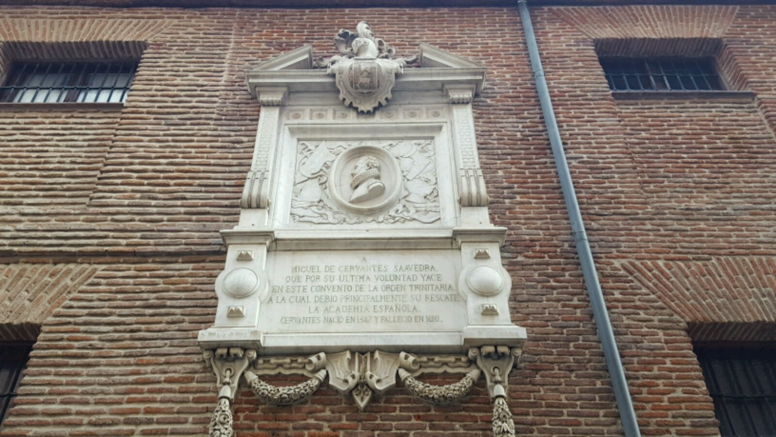 Commemoration to Cervantes at the Convento de las Trinitarias Descalzas de San Ildefonso