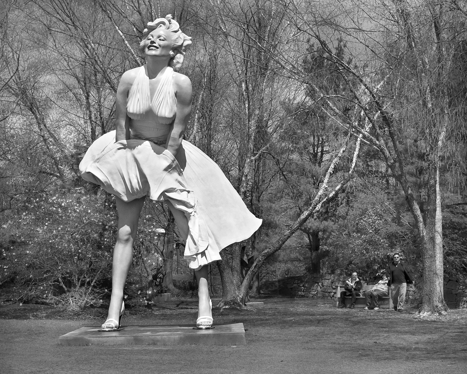 """""""Forever Marilyn"""" (Inspired bya scene from the movie 'The Seven Year Itch')"""