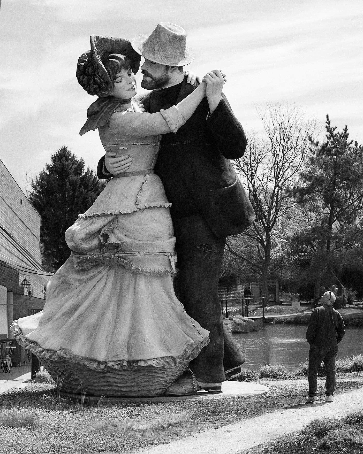 """""""A Turn of the Century""""(Inspired by Renoir's """"Dance at Bougival"""")"""
