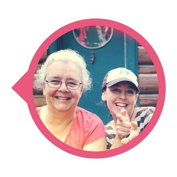 Jacqui & Gabrielle, notre équipe de directrices.