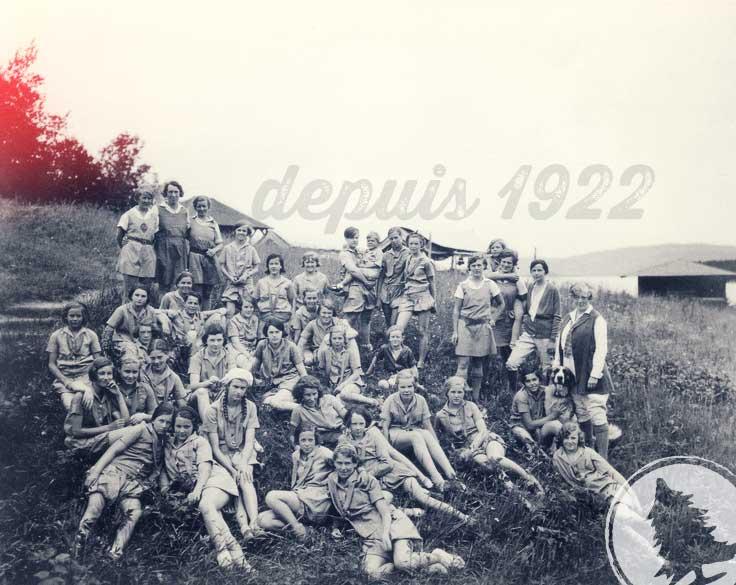Filles de Ouareau en 1922