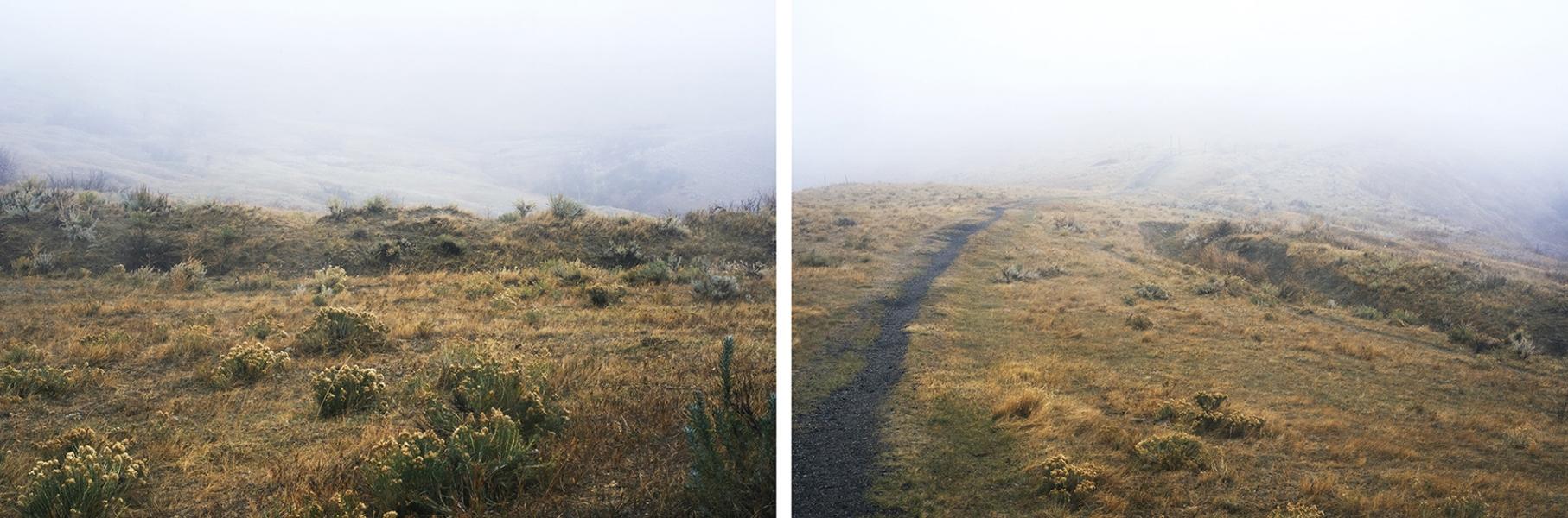Deborah Farnault  Trail Fog (Fetterman Battlefield), 2016