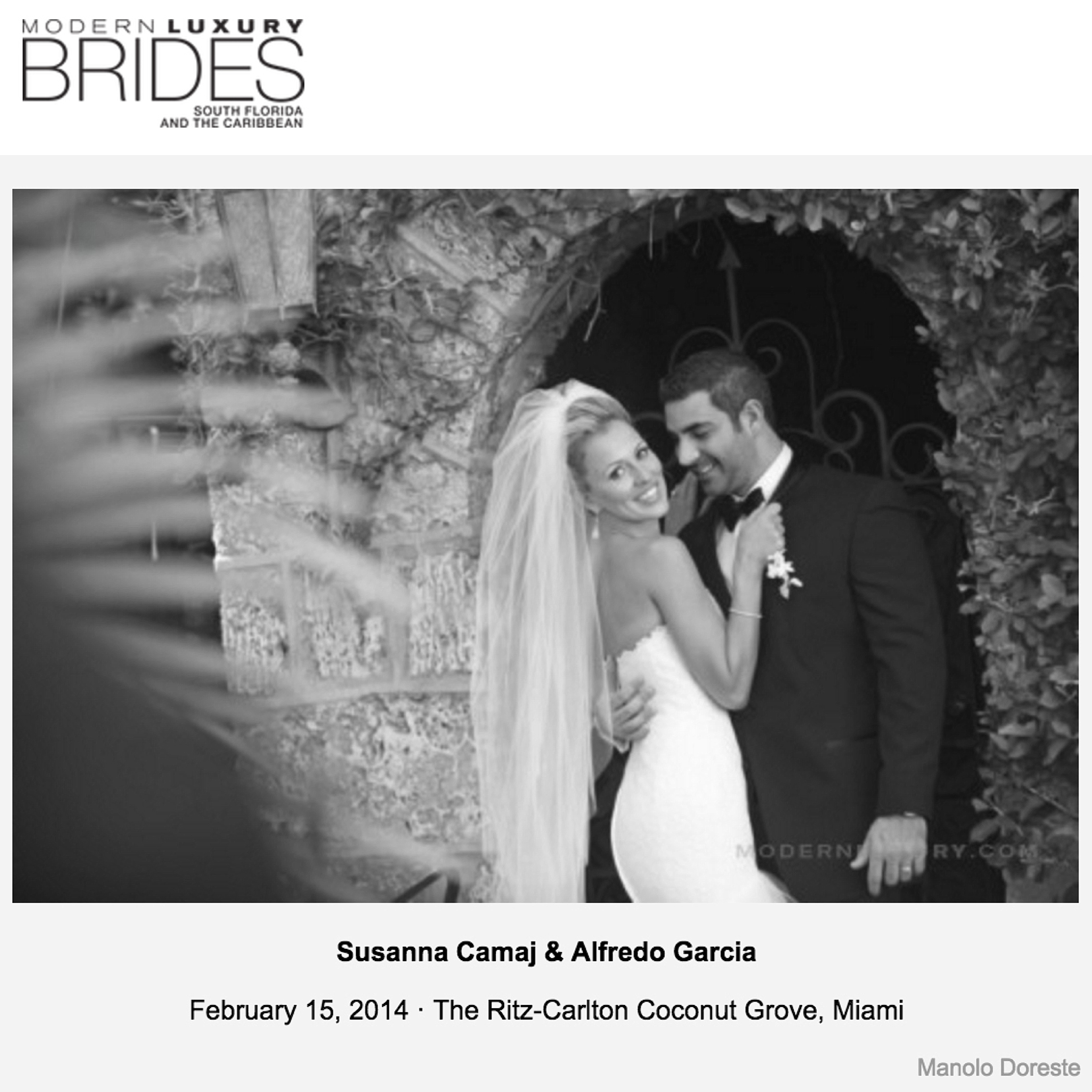 Modern Luxury Brides | South Florida and the Caribbean