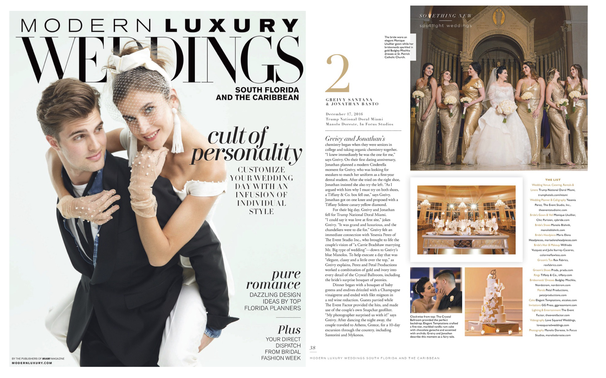 Modern Luxury Weddings South Florida and the Caribbean