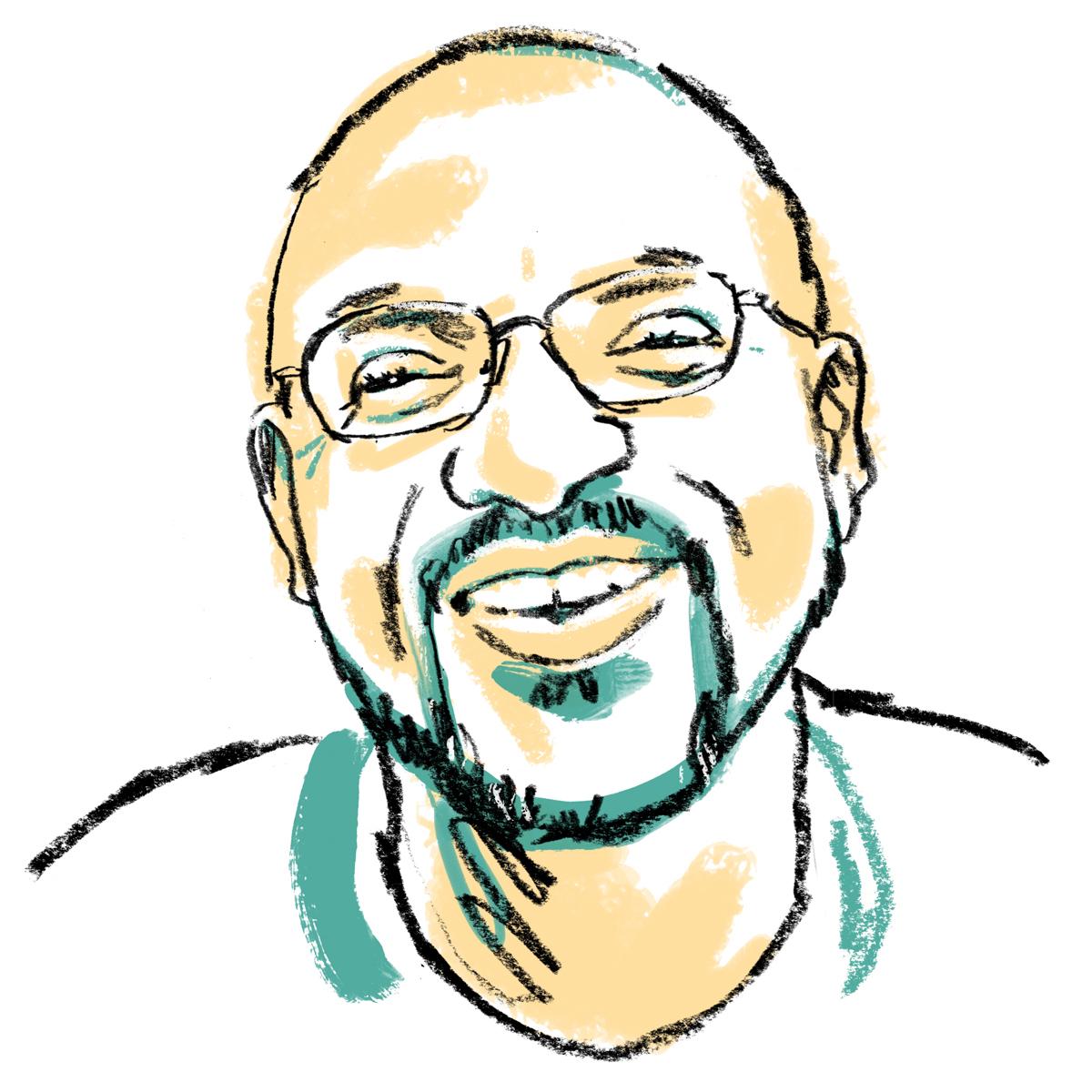 Jonny Ruzzo - Kwame Dawes Illustration.jpg