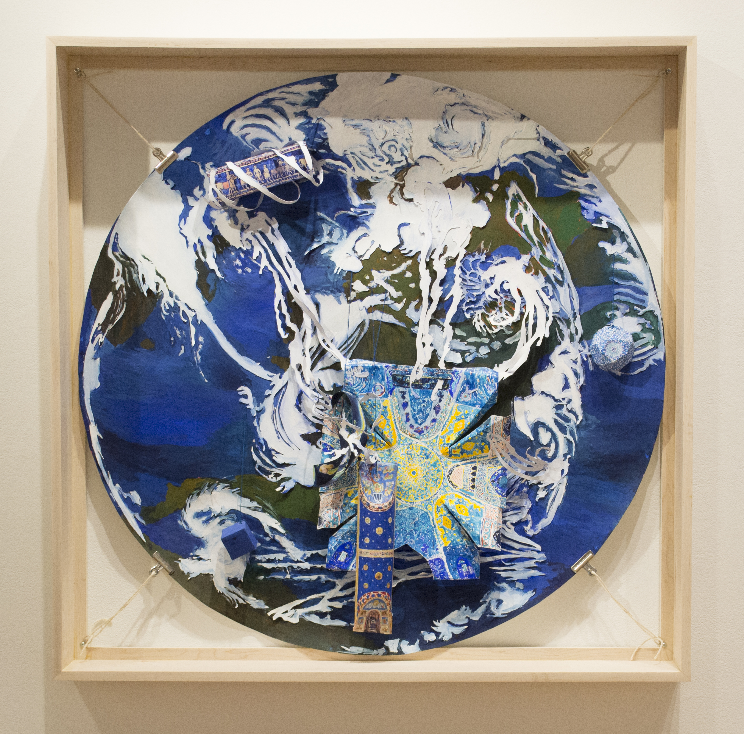 Blue World, from Temporal Embodiments at Julio Gallery, Loyola University
