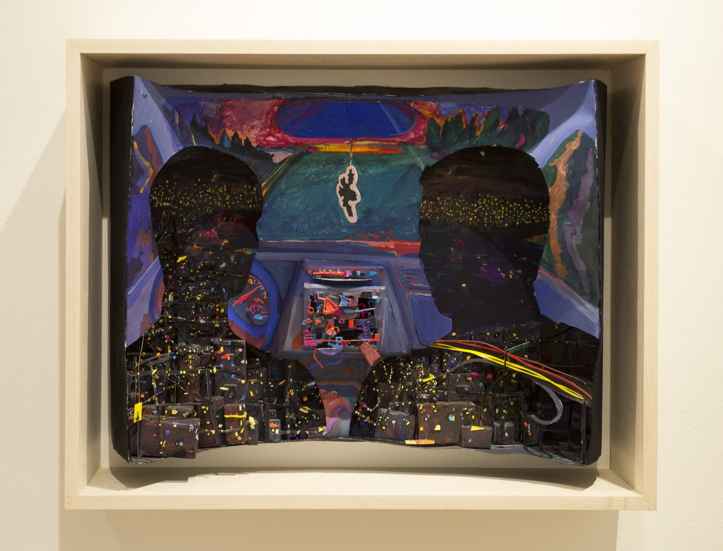 Drove All Night, from Temporal Embodiments at Julio Gallery, Loyola University