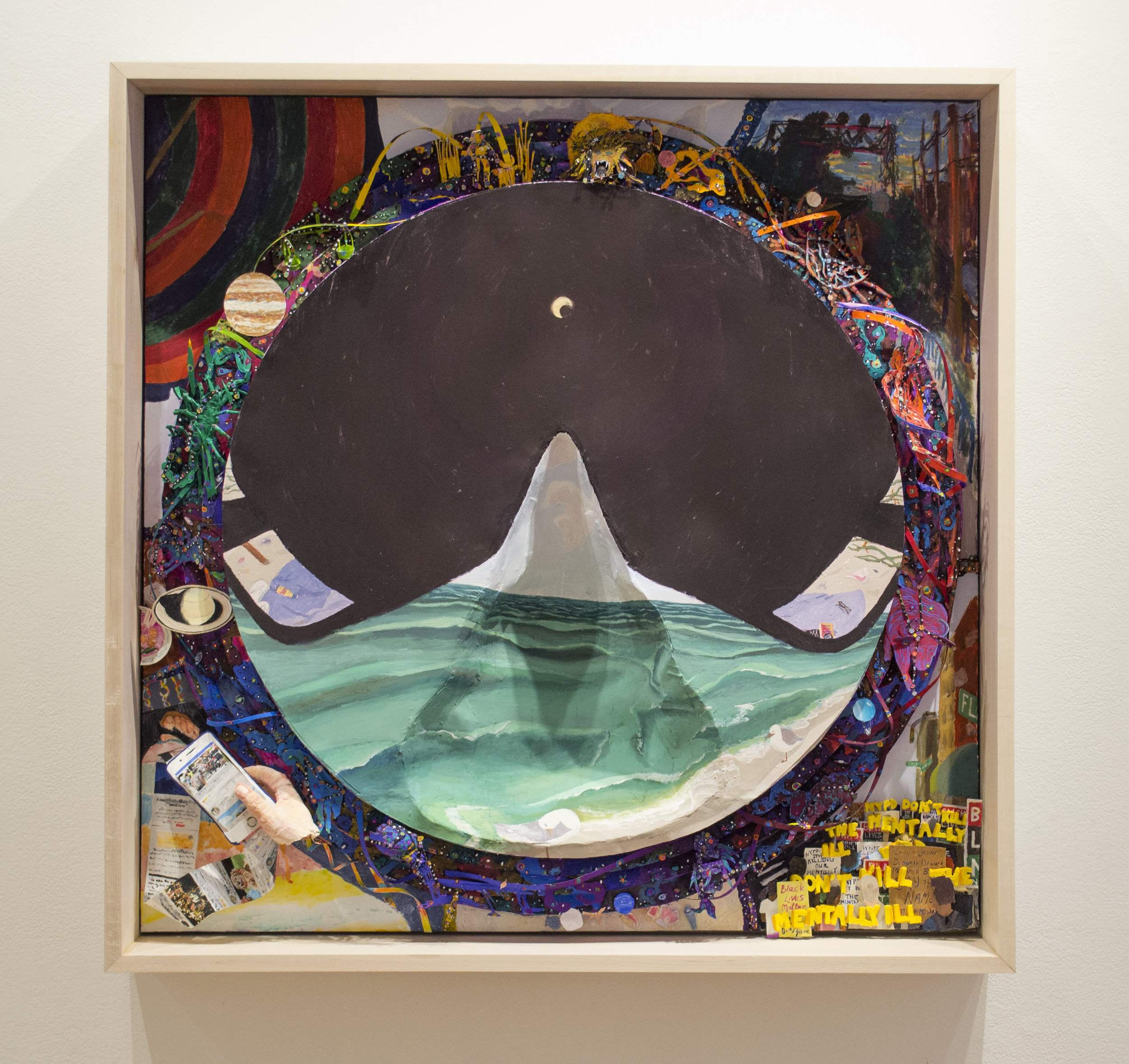 Eclipse Summer, from Temporal Embodiments at Julio Gallery, Loyola University
