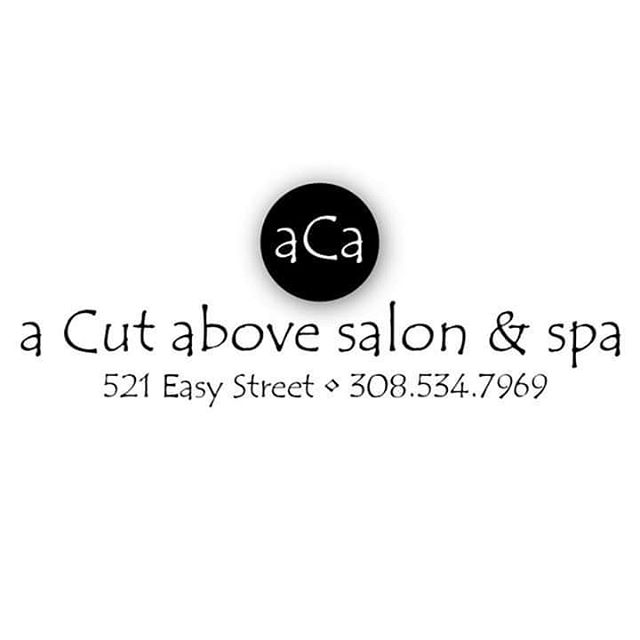 ***Sponsor Shout  Out*** Thank you so much A Cut Above Salon and Spa for sponsoring our 2019 season!!!