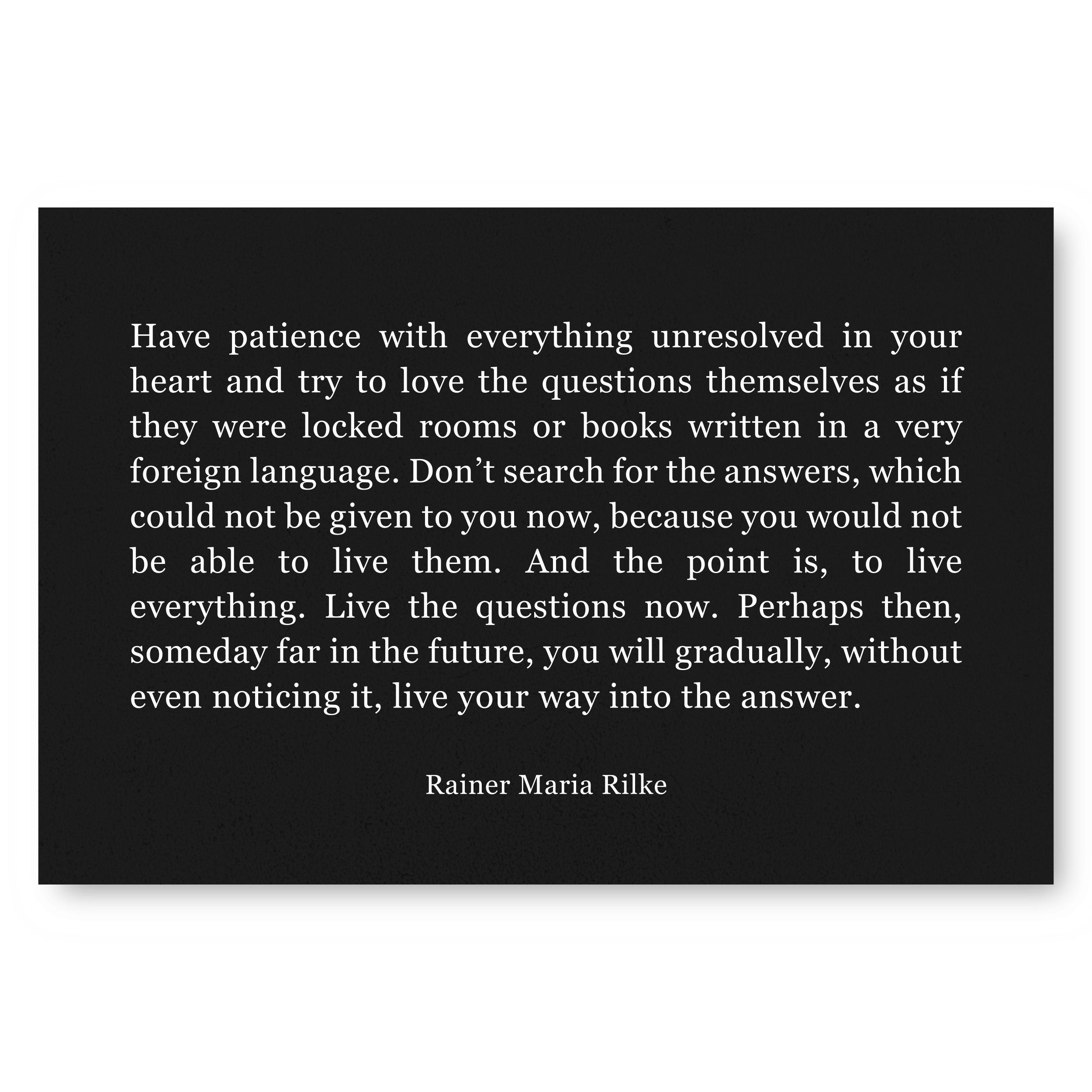 Rilke Printable