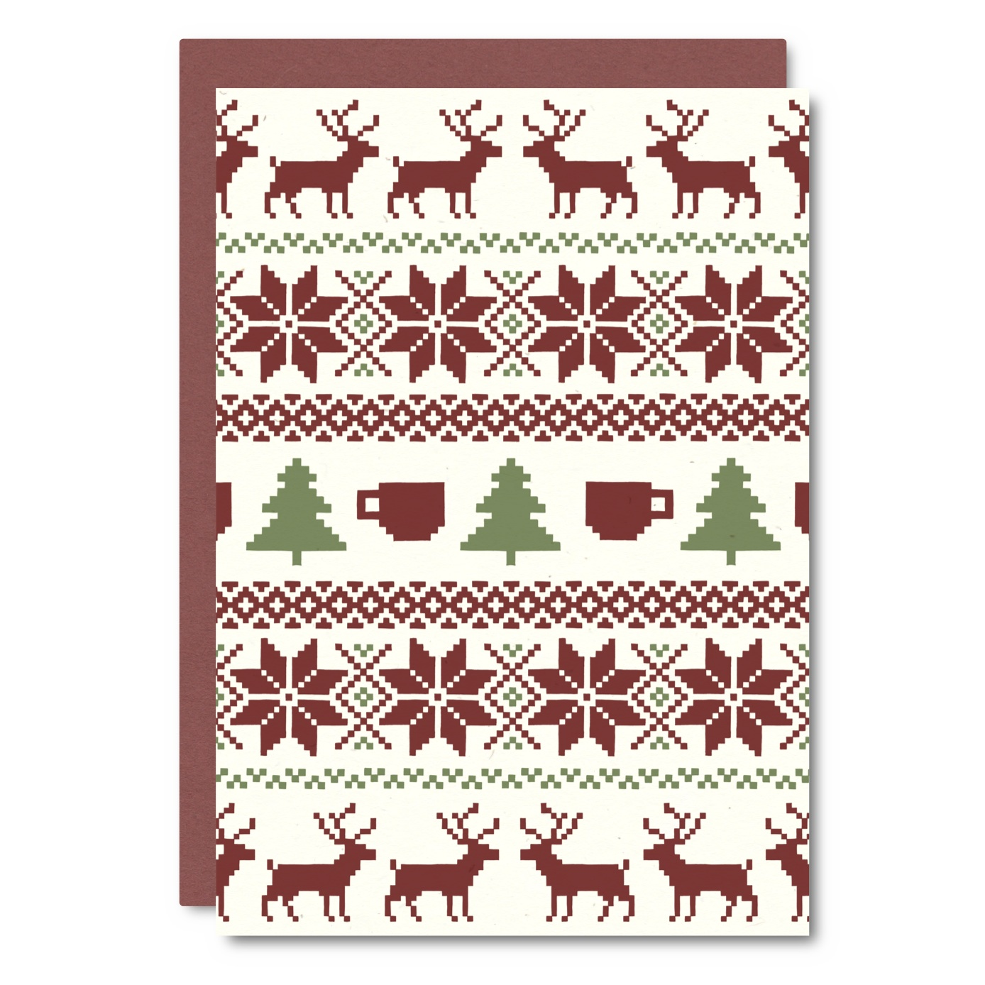 Ugly Sweater    Card - CH01