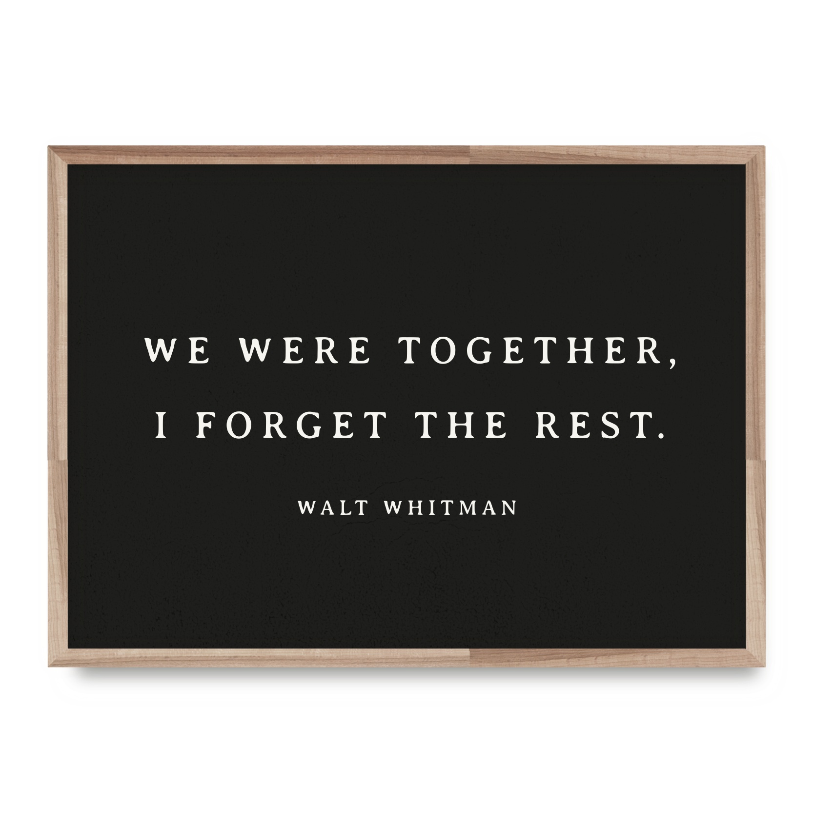Whitman Forget    Card - WL15    8x10 Print - WP16    12x16 Print - EW23