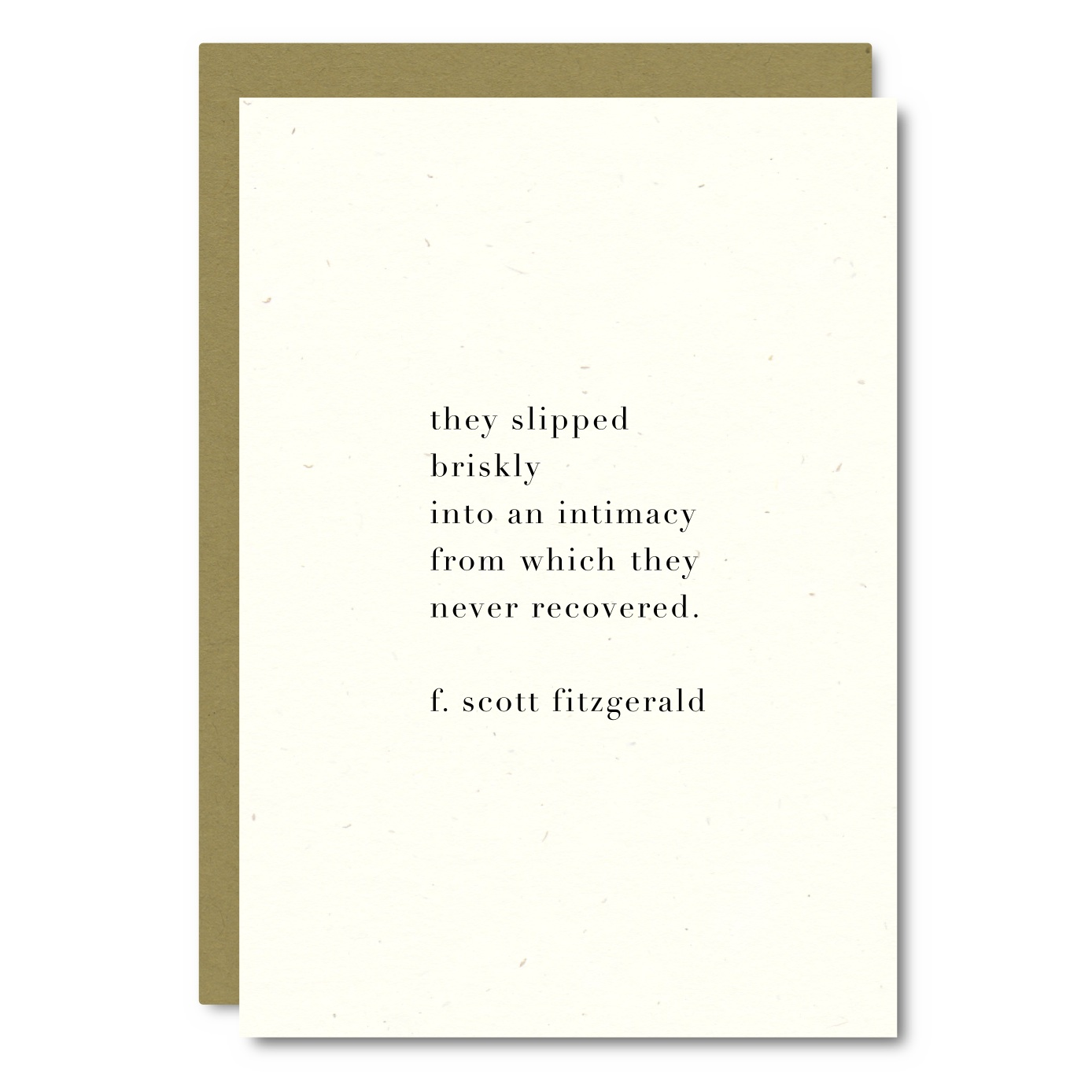 Fitzgerald Quote    Card - WL04    8x10 Print - WP05