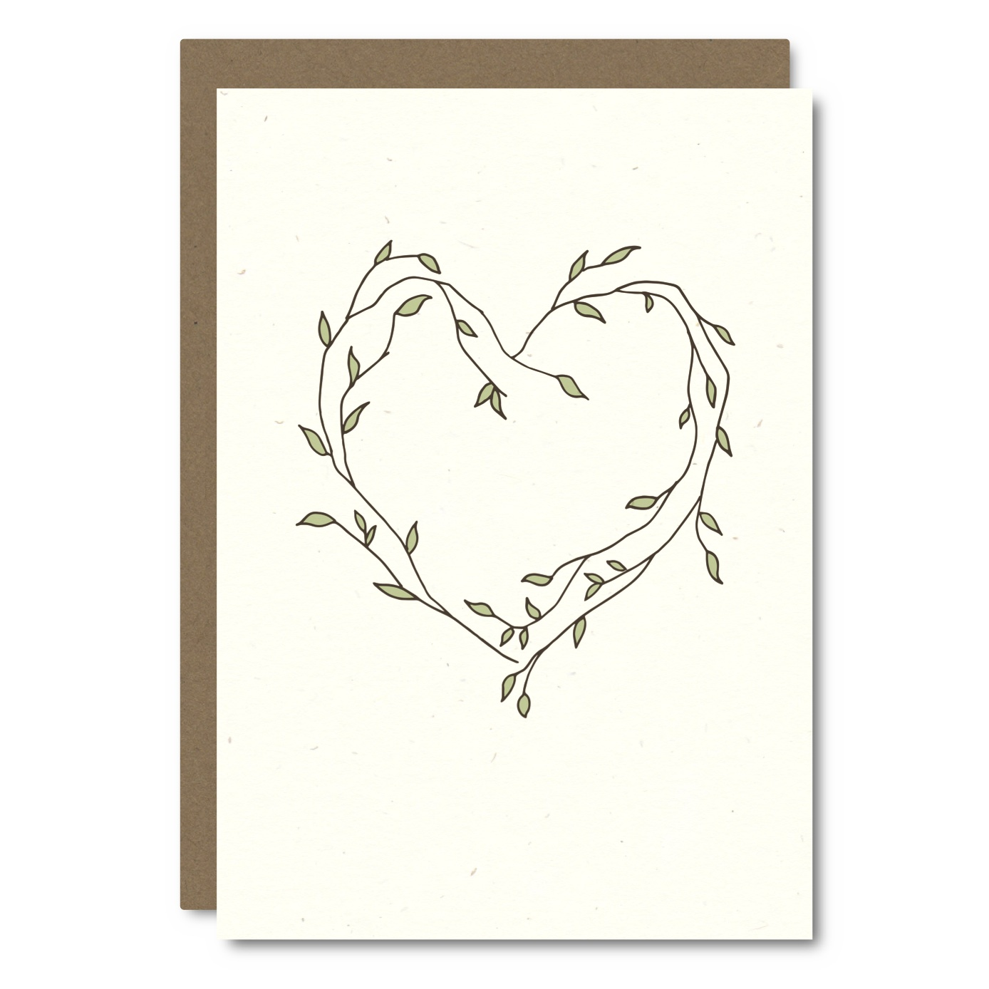 Heart Vines    Card - L  R04