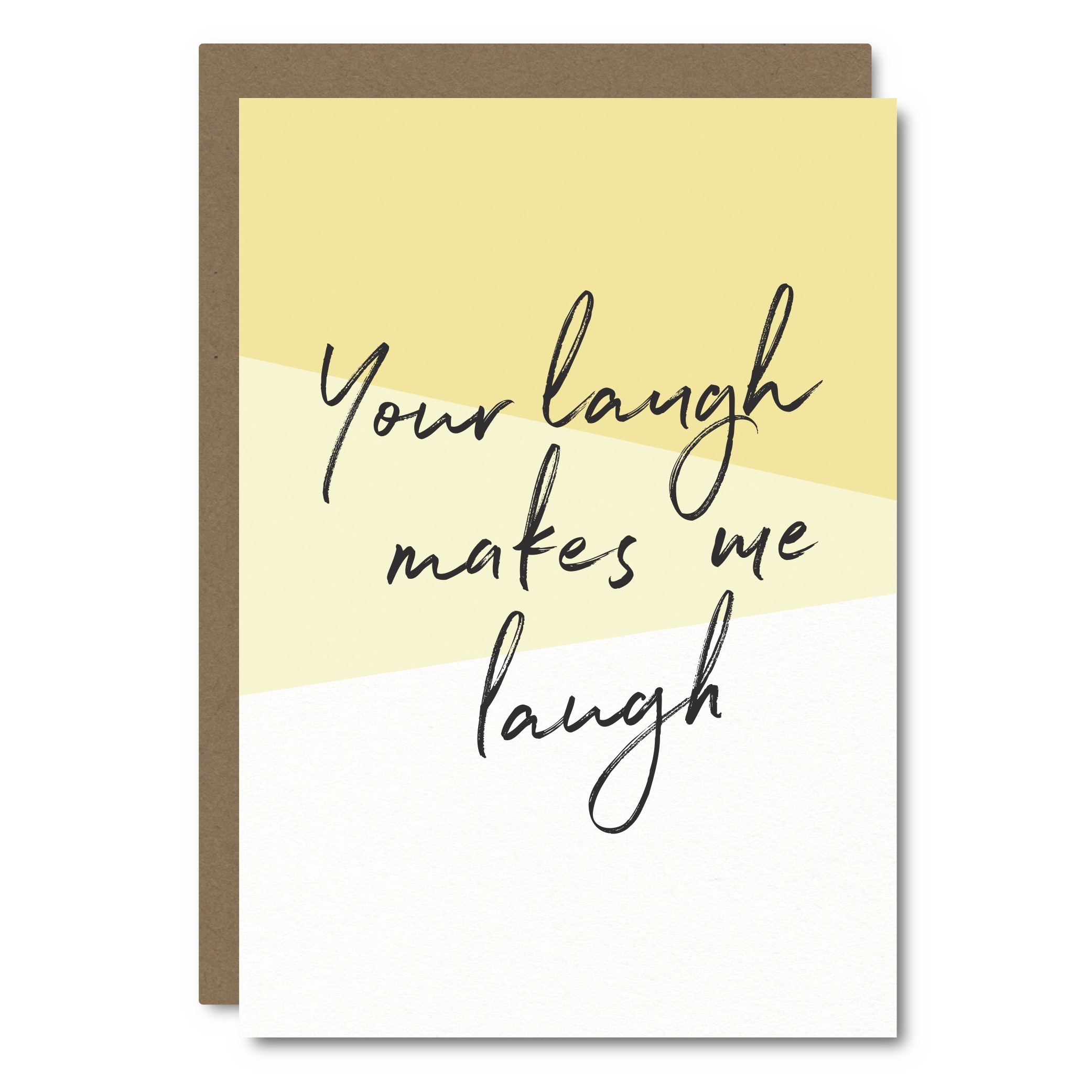 Your Laugh    Card - SC11