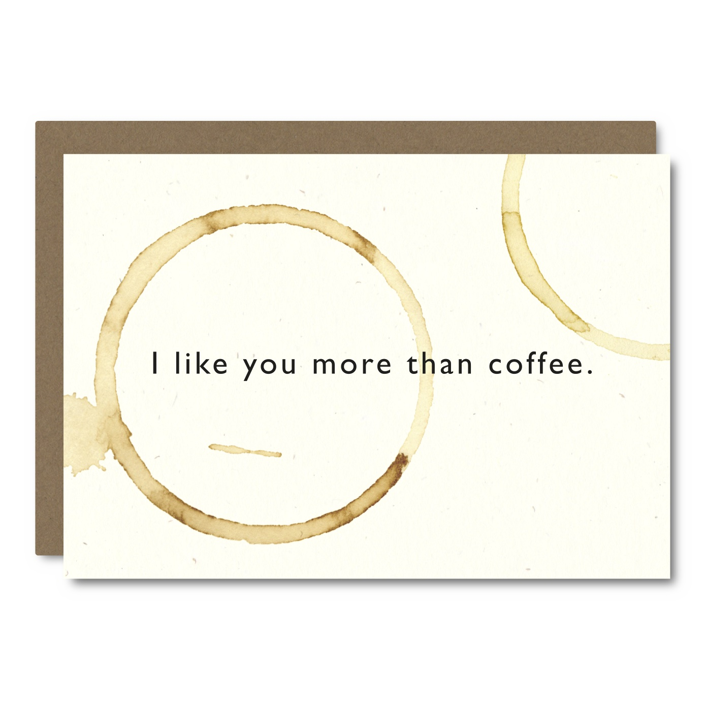 More Than Coffee    Card - CC06