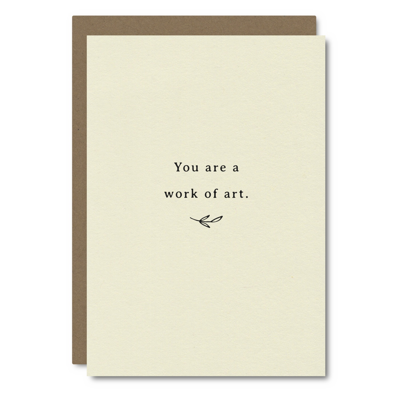 Work of Art    Card - AC07