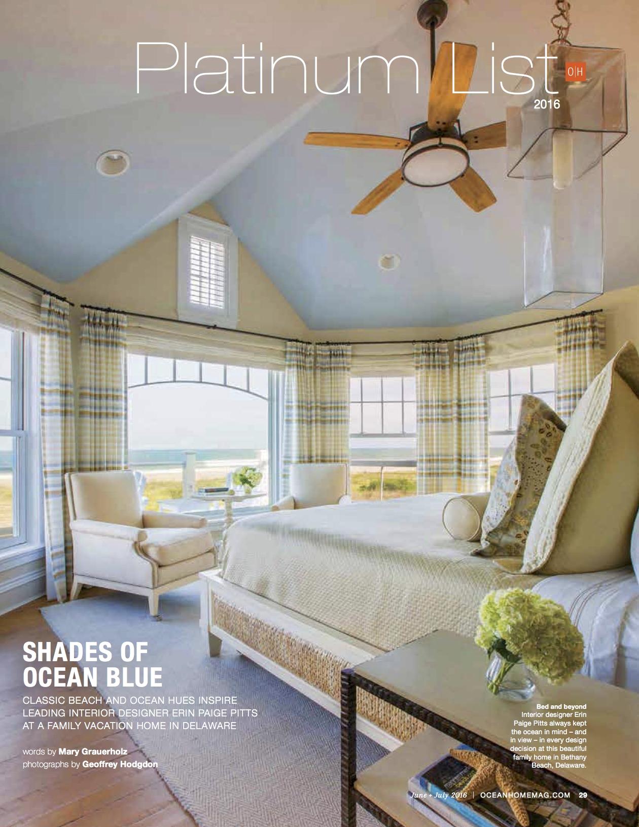 Ocean Home Magazine -