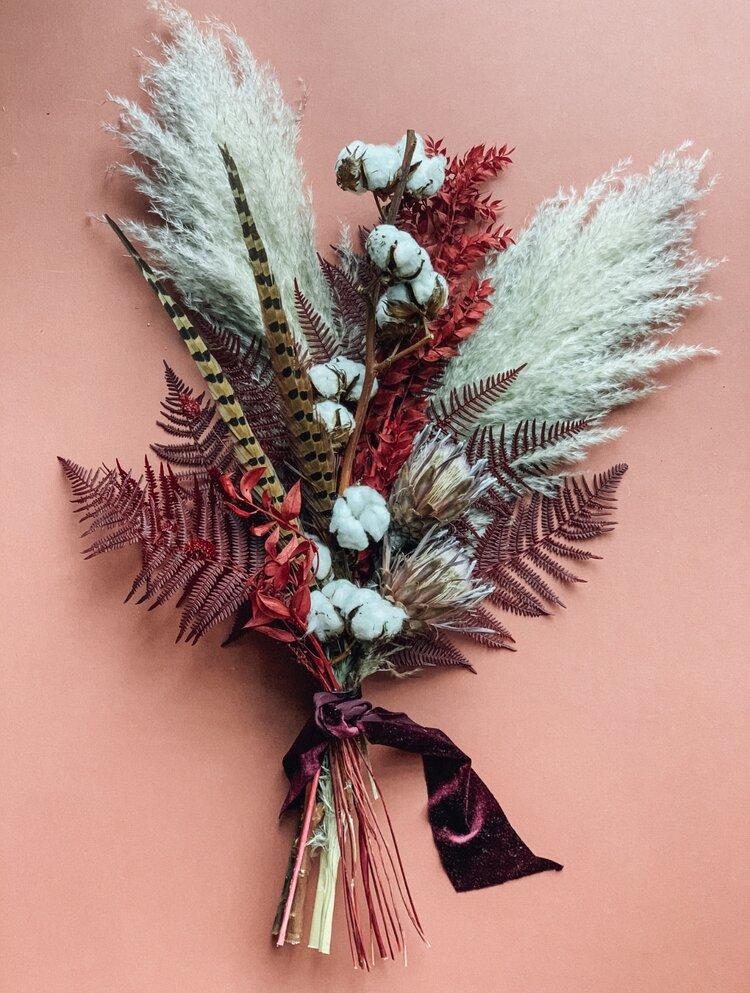 Dried Botanicals Fabloomosity Floral Atelier Edmonton Florist
