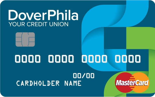 image of DoverPhila debit card