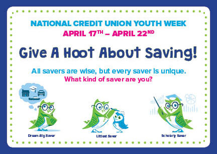 National Credit Union Youth Week. Read article for more details.