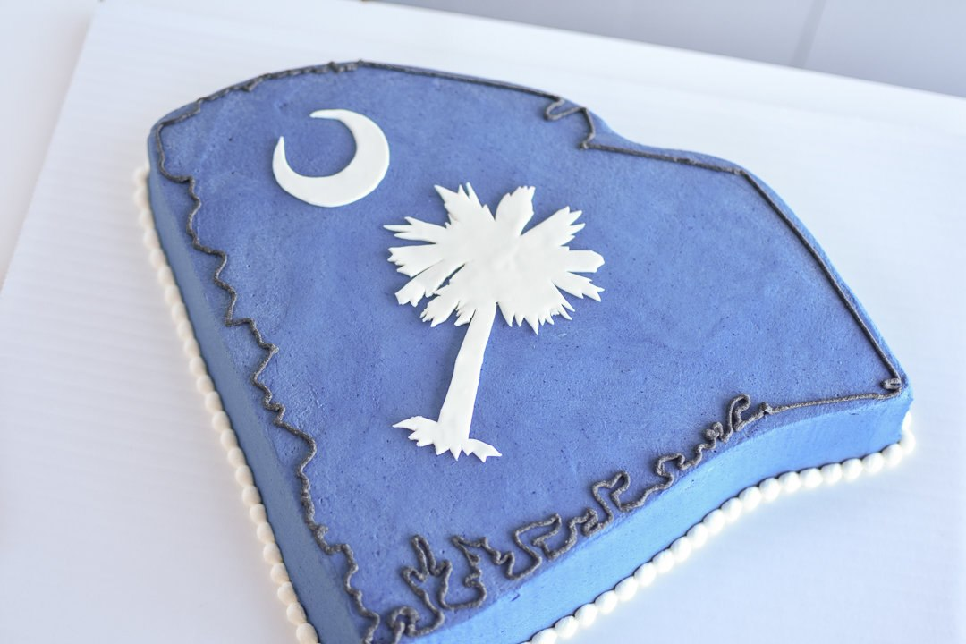 South Carolina State Grooms Cake