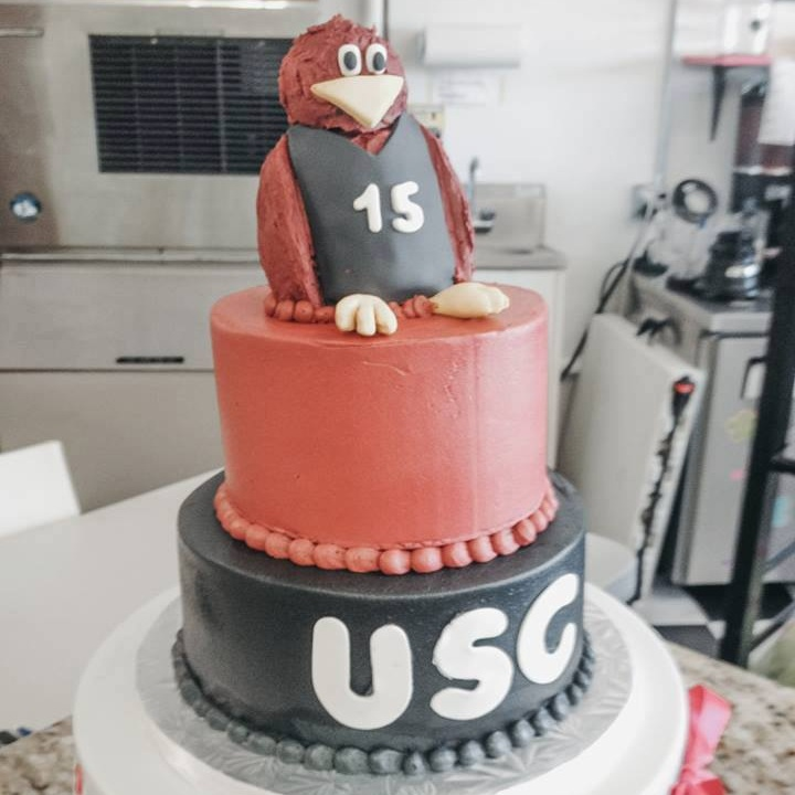 USC Buttercream Cake