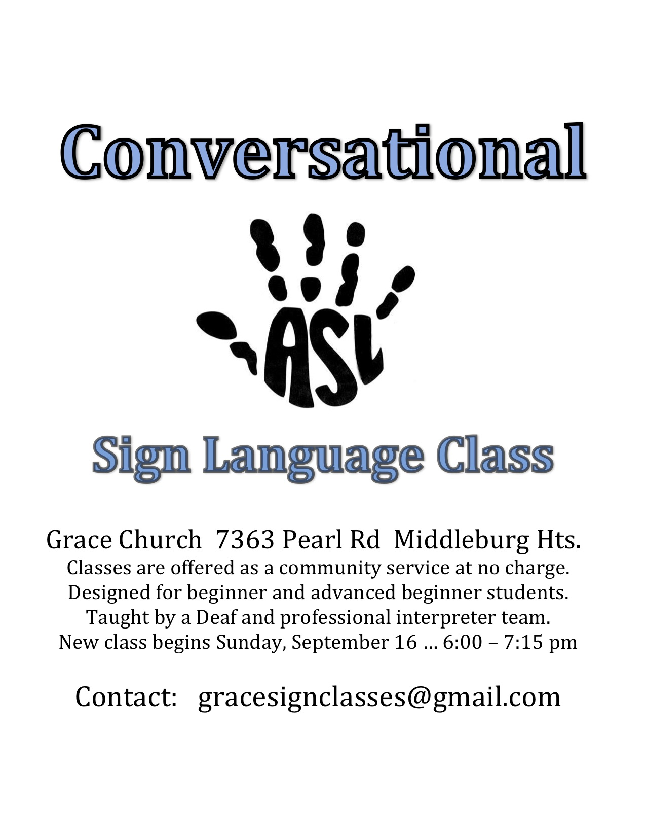 Conversational Sign Class flier Fall 2018 (3).jpg