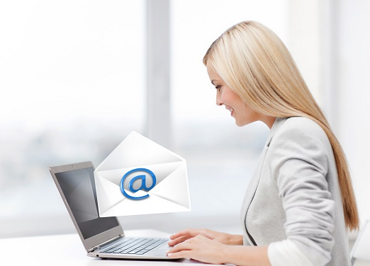 Email gets results.