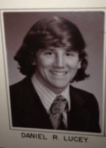 Dr. Daniel Lucey, circa 1976 at Dartmouth College.