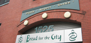 Bread for the City has been serving the Washington, D.C., community for 40 years. Its mission is to provide clients with dignity and respect while assisting in them in gaining just treatment.