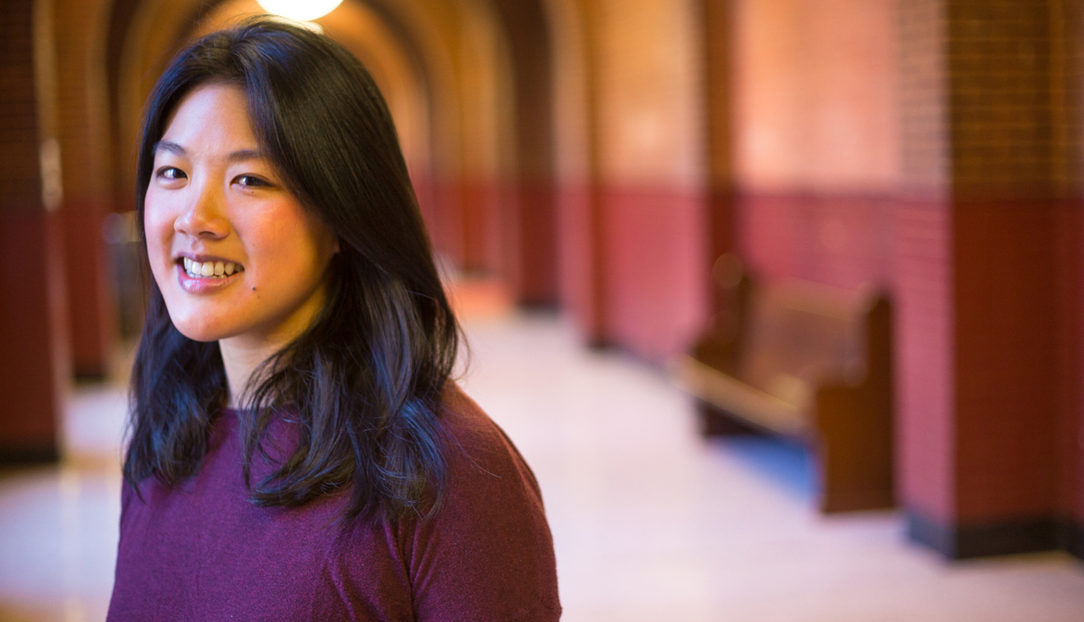"Elizabeth Lee (G'17), Ph.D. Candidate in Global Infectious Disease  ""I'm examining new uses and limitations of medical claims data to enhance real-time disease surveillance and improve epidemiological understanding of seasonal influenza outbreaks in the United States.""  Read more ."