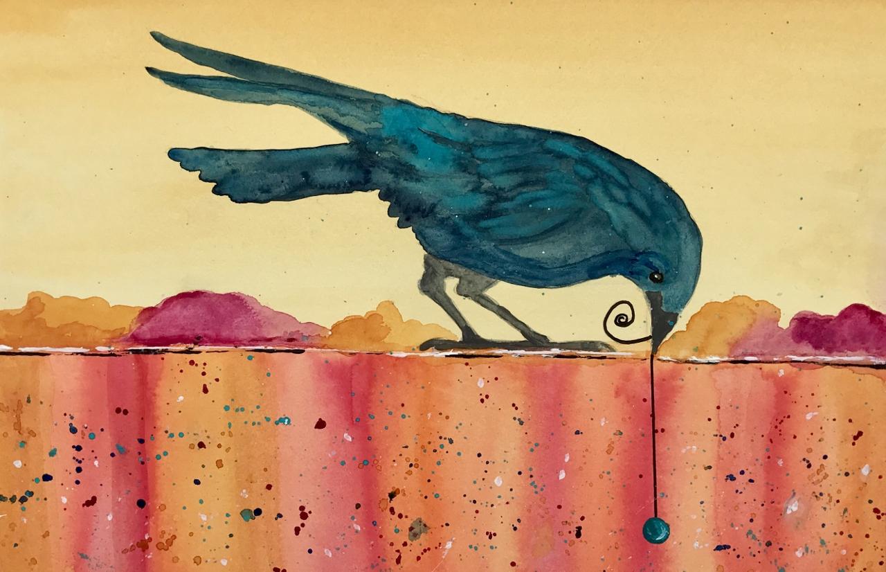 Indigo Crow