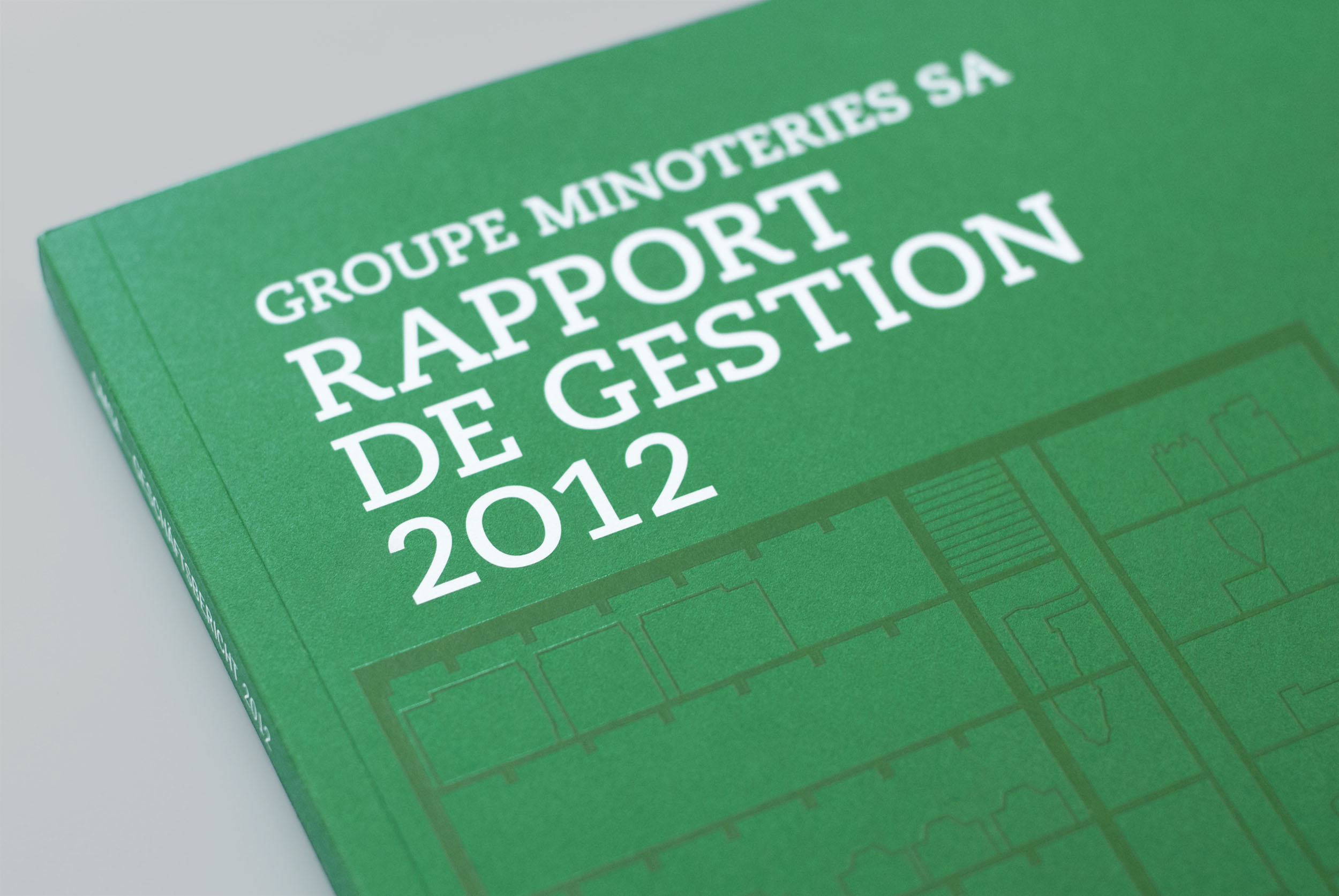 Groupes Minoterie | Annual report 2012 Art Direction © essencedesign