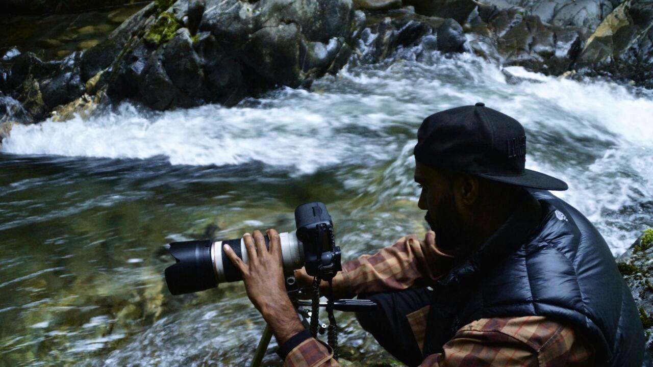 SHOOTINGLONG EXPOSURES NEAR HIGHWAY 2 IN PACIFIC NORTHWEST      PHOTO CREDIT : KHALEEL MOHAMMED