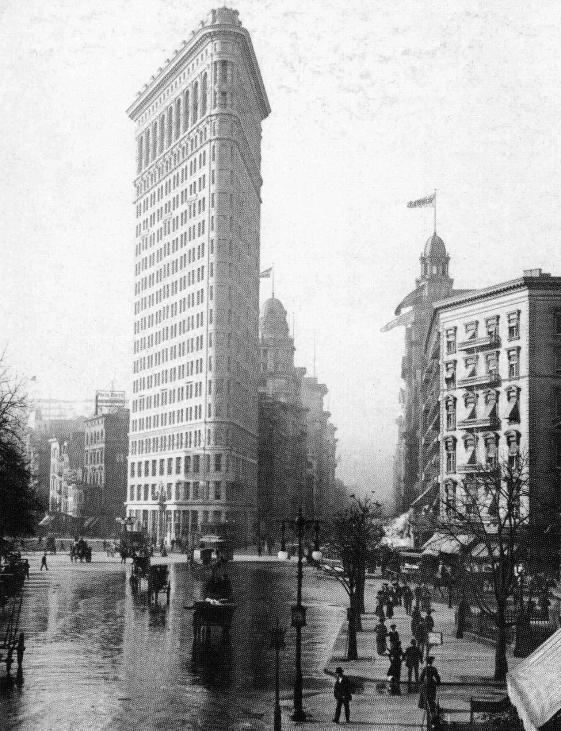 New York's Flatiron Building, 1903, Photo from the Library of Congress