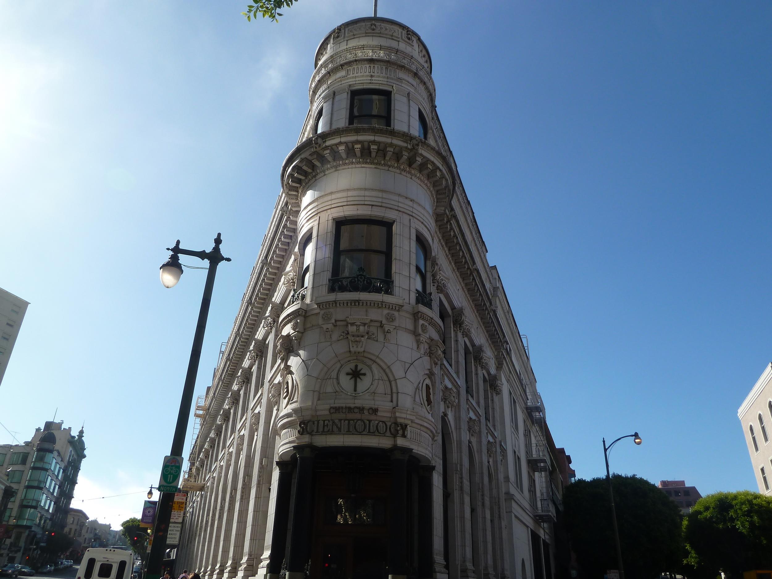 Old Fugazi Bank, built 1909, on Columbus at Montgomery