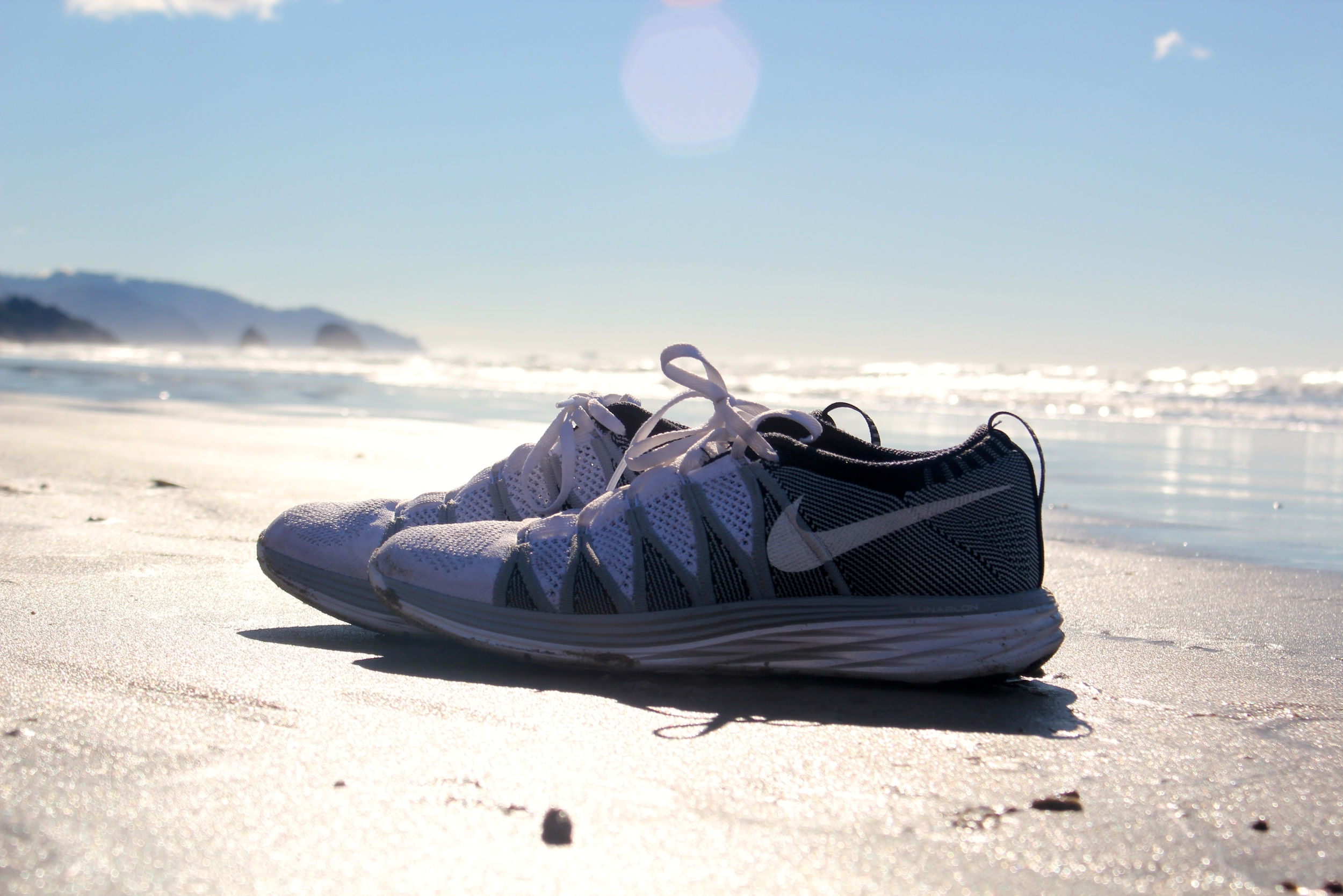 Nike's Fly Knit Lunar Eclipse Running Shoes. How do you do it?
