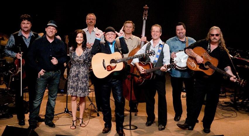 Les musiciens du 'Band' de Pour l'amour du country, édition 2014