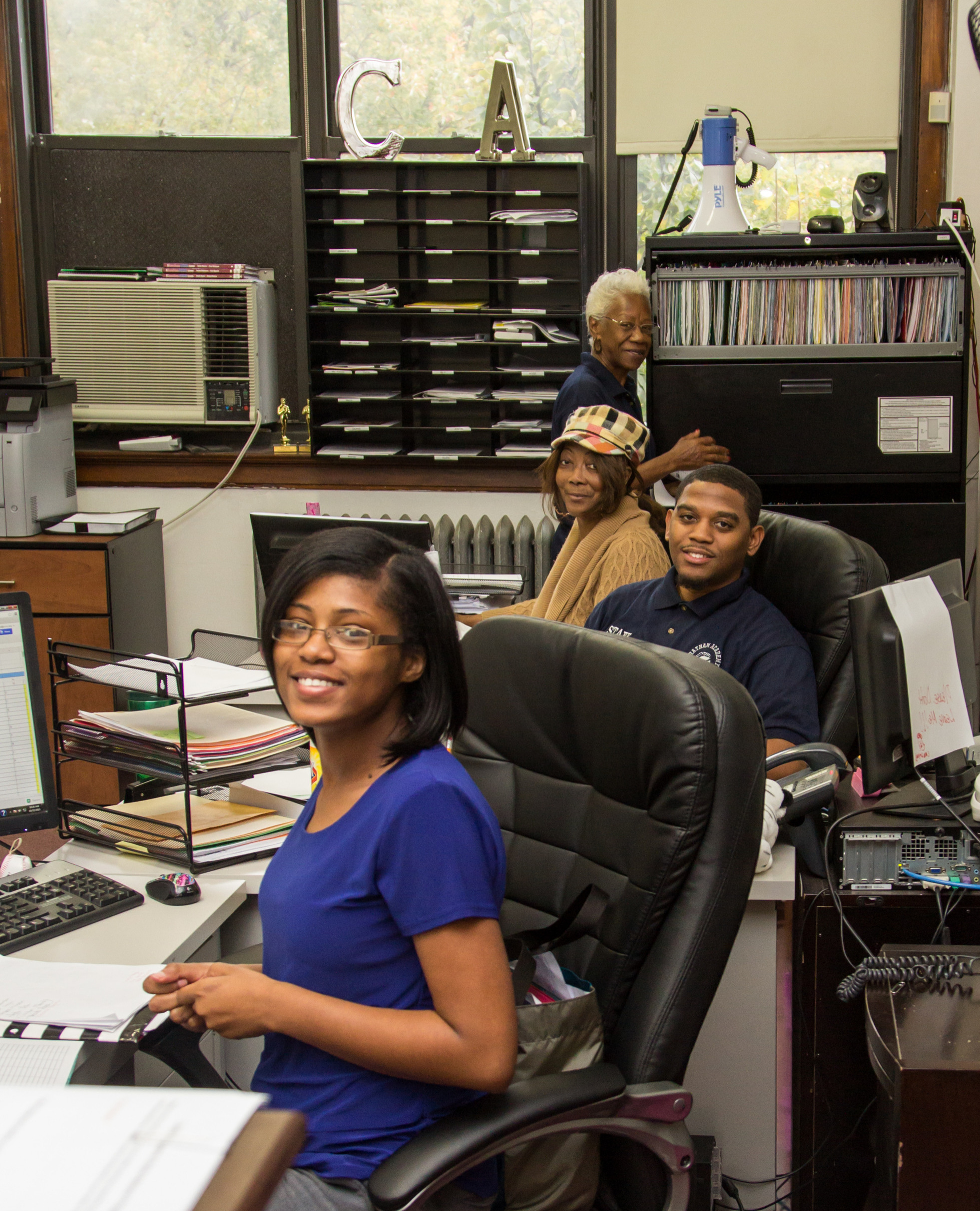 Administrative Offices Open Monday - Friday 9 am - 3 pm