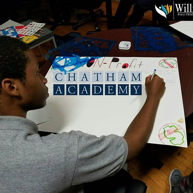 We teach it. They interpet it. #chathamacademy #cahstitans
