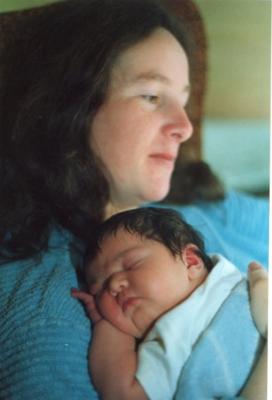 Elizabeth and daughter Meadhbh Anfa