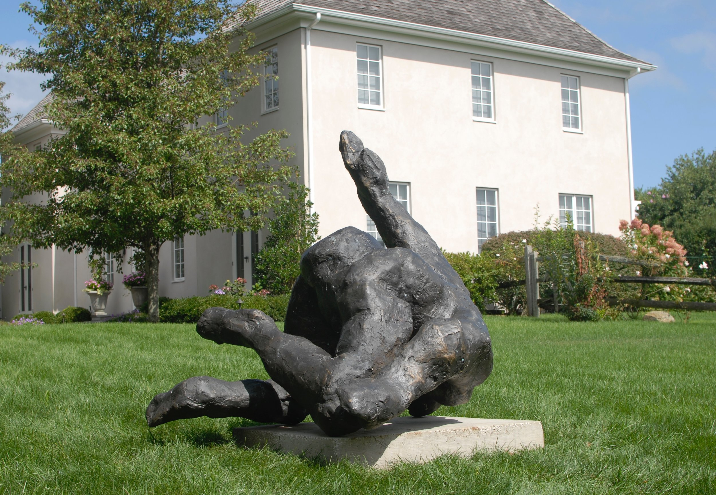 Adam, temporarily installed in Bridgehampton, summer 2015-6.