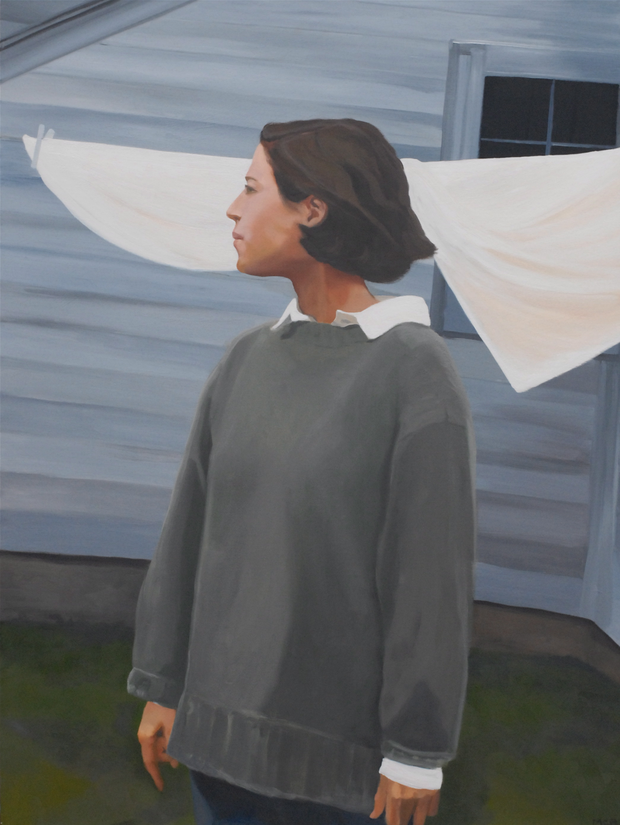 Marguerite. 48x36 inches, oil on canvas.