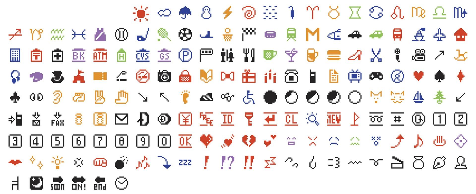 Original 176 emojis