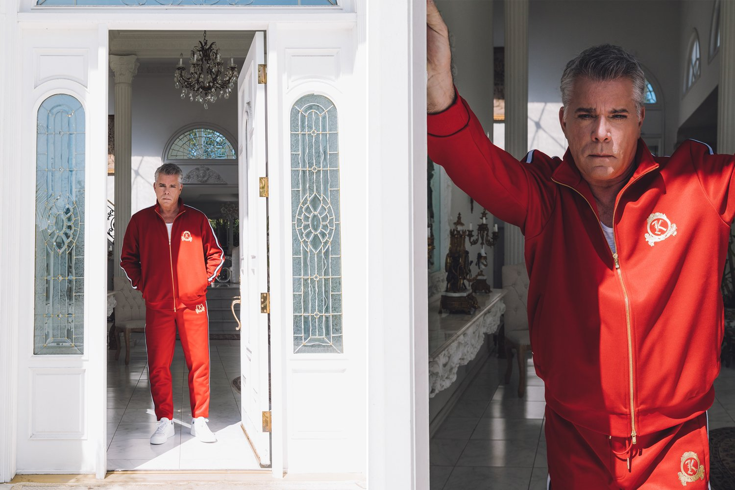 Developed Branding identity with our graphics team for Kith Spring / Summer 2018 Tracksuit Program with Bergdorf Goodman.  Modeled by Ray Liotta